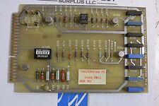 GCA Precision Scientific Load Cell Amplifier Printed Circuit Board 00774101