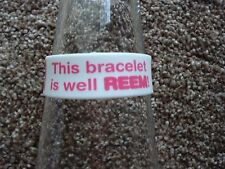***NEW*** UNISEX WRISTBAND ' DON'T BE JEL! ' SILICONE/RUBBER.
