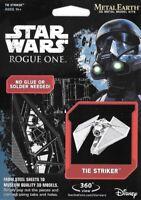 Fascinations Metal Earth Star Wars Rogue One TIE STRIKER 3D Model Kit MMS273