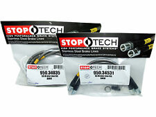 Stoptech Stainless Steel Braided Brake Lines (Front & Rear Set / 34035+34531)
