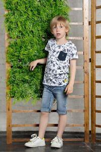 ♥B.NOSY♥ Jungen Short Bermuda kurze Hose jade green Gr.116-152 ♥ Y002-6610-337