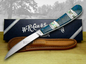 Case xx Desk Knife Exotic Peacock Coral, Mother of Pearl & Abalone 1/500 11084