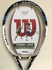 "New listing Wilson Juice 100S Tennis Racquet Grip Size 4 3/8"""