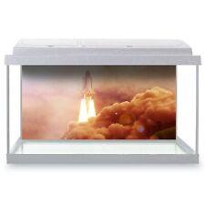 Fish Tank Background 90x45cm - Interstellar Space Travel Rocket  #24544