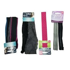 Goody Ouchless Adult Women Headband Headwrap Ponytail Bundle Colorful - 8 pc