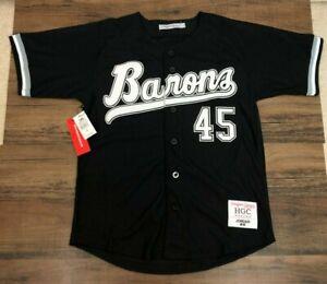 Michael Jordan Birmingham Barons Black Baseball Jersey NWT Minor League Headgear