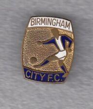 Enamel pin brooch badge football club FC BIRMINGHAM City England