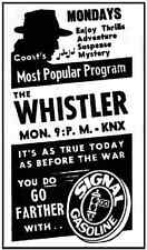 THE WHISTLER (1942-1955)  OLD TIME RADIO - 5 CD-ROM - 469 mp3