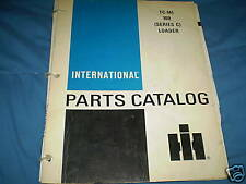 INTERNATIONAL IH 100 SERIES C LOADER PARTS CATALOG