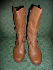 "LADIES LEATHER REACTION ""FLEX TIME"" BOOTS SIZE 10"