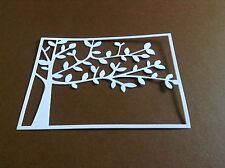 8 x Tree background / frame die cuts**FREE POSTAGE***