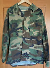 US Navy Jacket- Fatigues Camouflage Active Duty Name:Cox Size M