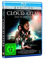 Cloud Atlas [Blu-ray](NEU & OVP) Tom Hanks, Halle Berry von Tom Tykwer, Lana Wac