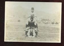 Original 1925 Baseball 5 X 7 Photo Rabbit Maranville & Charlie Grimm