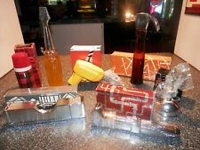 Vintage Avon Bottle Lot Of 7 Tools New in Boxes