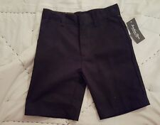 Jonathan Stone, Boys size 6, Navy Uniform shorts, Adjustable waist
