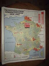 CARTE SCOLAIRE ROSSIGNOL FRANCE DEMOGRAPHIE 1836 - 1962. GUERRE  DE  1914 - 1918