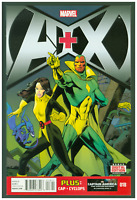 A+X #18 VF/NM Marvel Comics 2014  Avengers & X-Men Vision & Kitty Pryde Cover