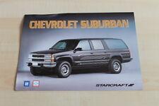 148885) Chevrolet Suburban K 2500 - Starcraft - Prospekt 1994