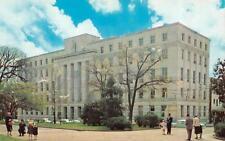 RALEIGH, NC North Carolina  HALL OF JUSTICE BUILDING  Chrome c1950's Postcard