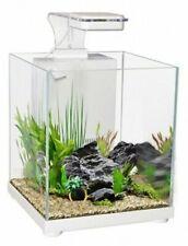 Aqua One Batta Sanctuary 10L Glass Aquarium - White