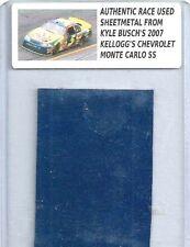 KYLE BUSCH NASCAR RACE USED SHEET METAL 2007 CAR PIECE  KB 41