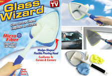 Limpiador de cristales y ventanas Glass Wizard cabezal rotativo limpia ventanas