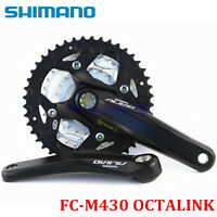 Shimano Alivio FC-M430 9 Speed MTB Bike Octalink Crank Crankset 22-32-44T