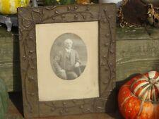 art nouveau  Jugendstil frame antique photo  by  Zuppinger (Paris) cadre cuivre