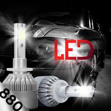 XENTEC LED HID Foglight kit 880 White for 2001-2002 Chevrolet Silverado 1500 HD