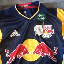 New York Red Bull's Away Soccer Jersey Adidas Climacool Authentic NY MLS size S