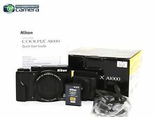 Nikon Coolpix A1000 16MP Digital Camera Black 35x Optical Zoom *MINT- in Box*