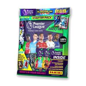 Panini Adrenalyn XL Premier League 2021 2022 Starter Pack Football Cards Packs