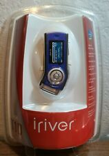 iRiver T10 1GB MP3 Player with FM Tuner Blue