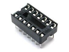 10 Zoccoli 14 pin passo 2,54mm per circuiti integratii zoccolo DIL Socket DIP