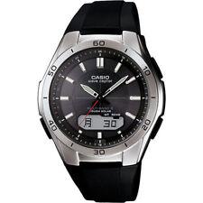Casio Mens Solar Powered Wrist Watch Analog Digital Wave Ceptor Radio Controlled
