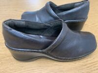 Born BOC Concept Womens Size 10 Euro 42 Brown Leather Clog Comfort Shoes