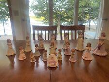 Enesco Growing Up Birthday Girls Figurine 17 Piece Set Nr