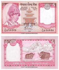 Nepal 5 RUPEES 2005 UNC banconote P-53