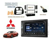 "2006-2012 MITSUBISHI ECLIPSE Car Stereo Kit BLUETOOTH 6.2"" TOUCHSCREEN DVD USB"