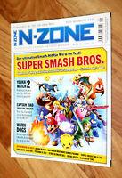 Nintendo N-Zone Magazin 2015 Super Smash Bros. Captain Toad Mega Man 7 Sonic