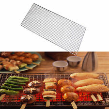 Barbeque Grill Replacement Iron Wire Charcoal Grid Grate Outdoor BBQ Grillware