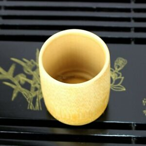 Natural Pure Bamboo Tea Cups Handmade Water Cup Tea Set Cups Insulated Drinkware