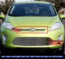 Fits Ford Fiesta Hatchback Billet Grille Grill Insert-Fits 2011-2013
