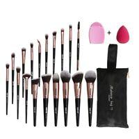 Professional Makeup Brush Set Foundation Make Up Brushes Tools Bag Xmas Gift