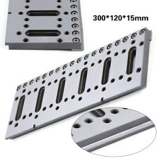 1x Wire Edm Fixture Board Jig Holder Tool For Clamping And Level 300x120x15mm Us