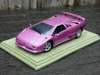 Purple Cosmic Girl Jamiroquai LAMBORGHINI DIABLO Toy CAR 1:18 Special Edition 30