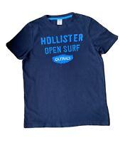 MENS HOLLISTER NAVY BLUE T-SHIRT SIZE XL