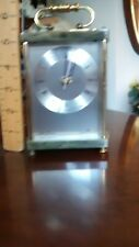 Vintage Brass & Onyx Seth Thomas Quartz Carriage Clock