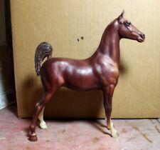 Breyer 62 Chestnut Saddlebred Weanling Interesting Blaze Variation
